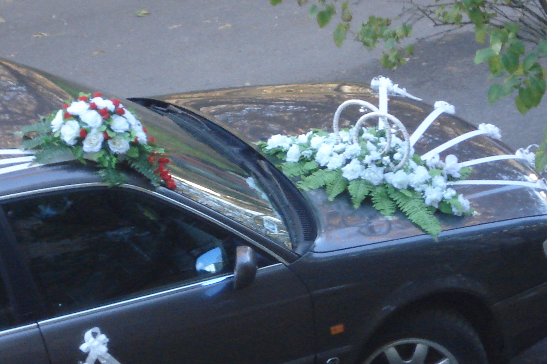 Фото свадебных машин живыми цветами
